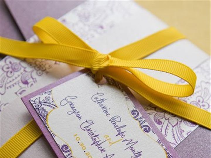Tmx 1352219447211 RUBY4 Thorofare wedding invitation