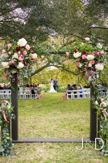 Door Frame Florals