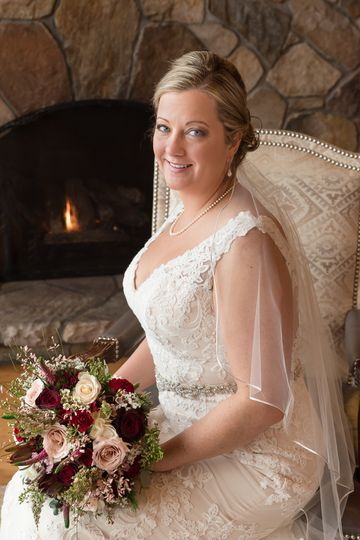 Winter wedding at the Golden Arrow in the Heart of Lake Placid NY. The Adirondacks make a beautiful...