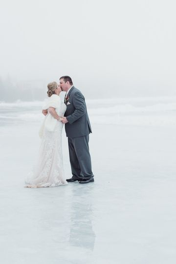 Adirondack Winter wedding