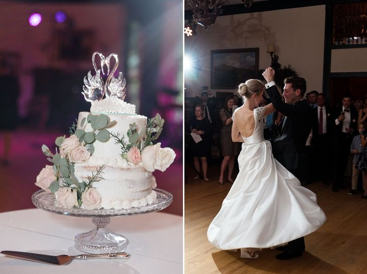 Dance the night away at the Ausable Club and Resort on your wedding day. Photography by Julia...