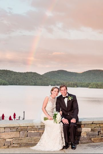 Lake Placid Lodge Summer Wed