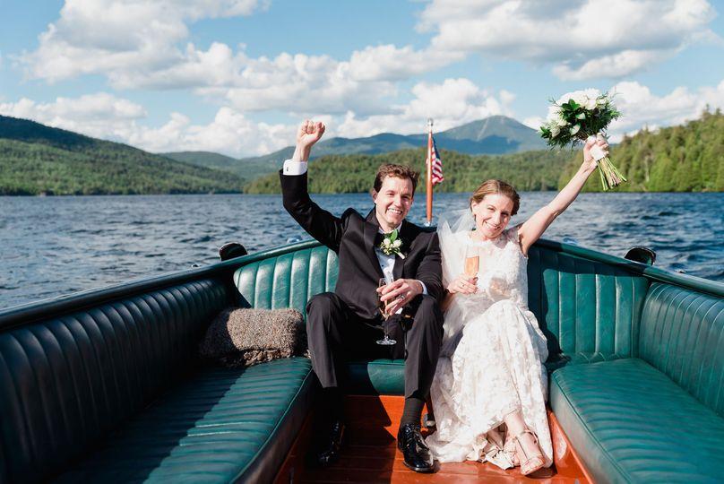 Lake Wedding in the ADK