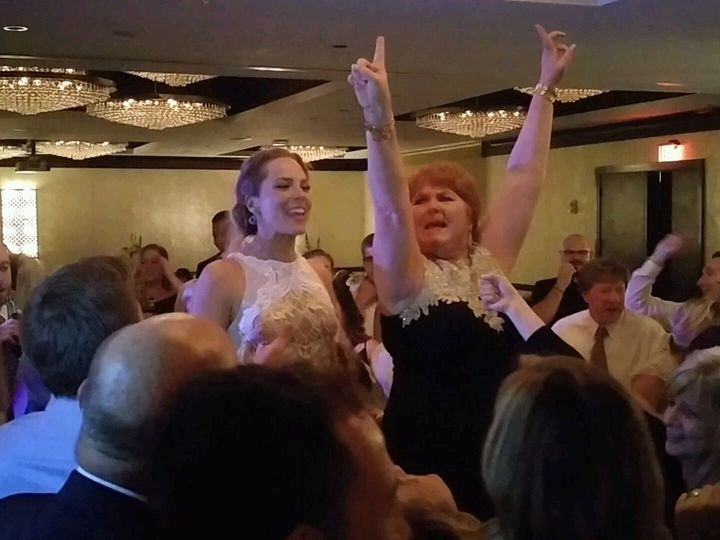 Tmx 1493678564660 Bride On A Chair Close Up Akron, OH wedding dj