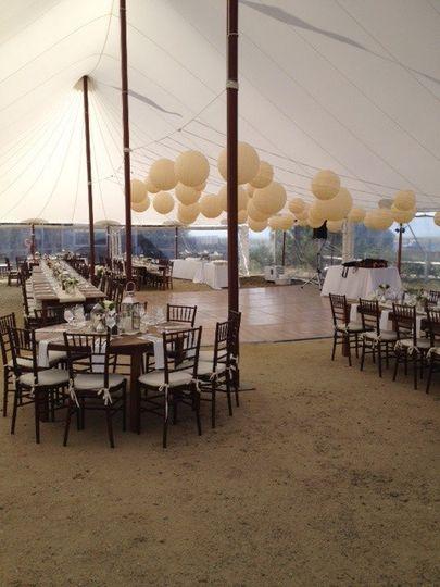 Wedding-ready space