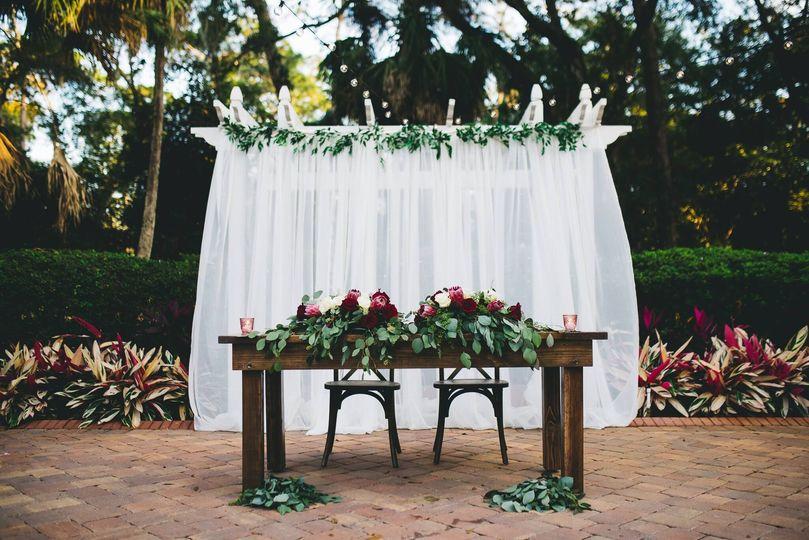 Farmhouse Sweetheart Tables