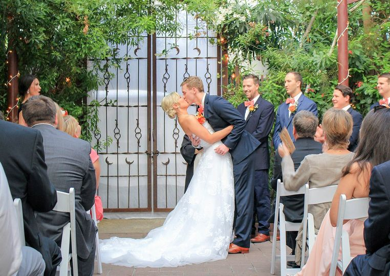 Wedding at the Avant Garden