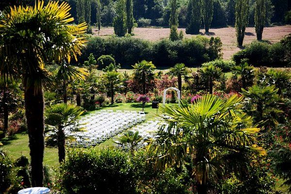 Hold your ceremony in one of the only palm gardens in the northwest.