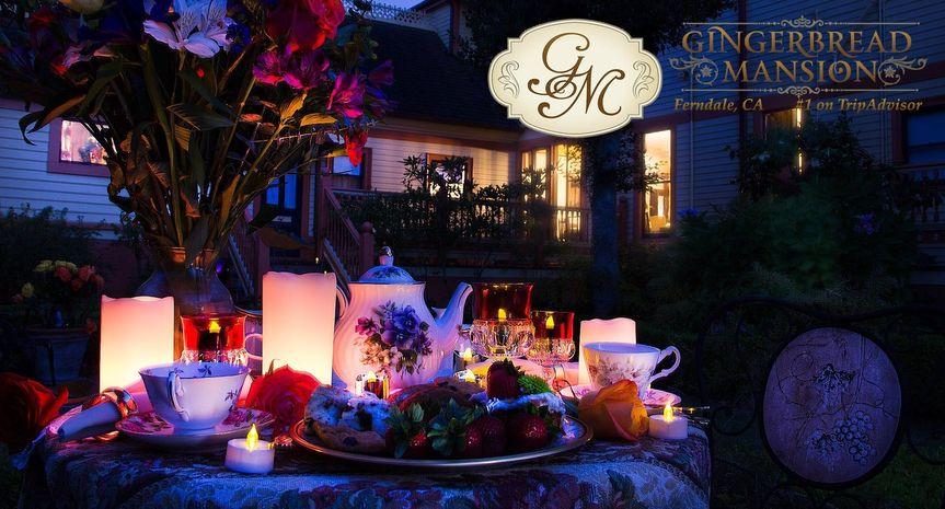 Tea Reception at the English Garden