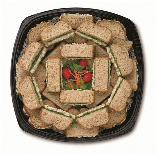 Chick-fil-A Chicken Salad Sandwich Tray  Made with the freshest ingredients, which include chunks of...