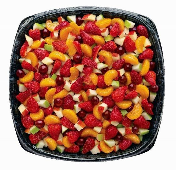 Fruit Tray  A great-tasting, nutritious fruit mix served chilled with Caramel Dipping Sauce on the...