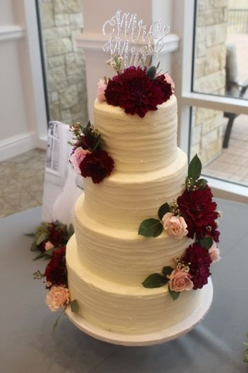 Gold Ribbon Confections Wedding Cake Arlington Tx