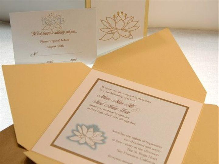Tmx 1198085660921 Zlotus Chino Hills wedding invitation
