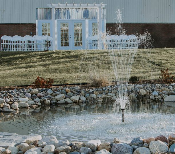 Fountain in Ceremony Area