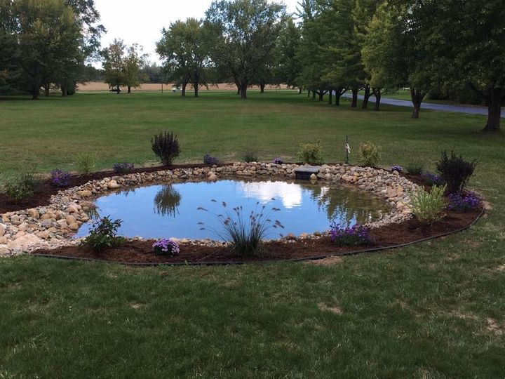 Pond in Ceremony Area
