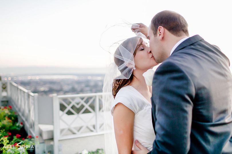 LDS Temple Wedding Abel Soria
