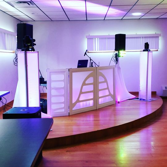 Indoor DJ Setup