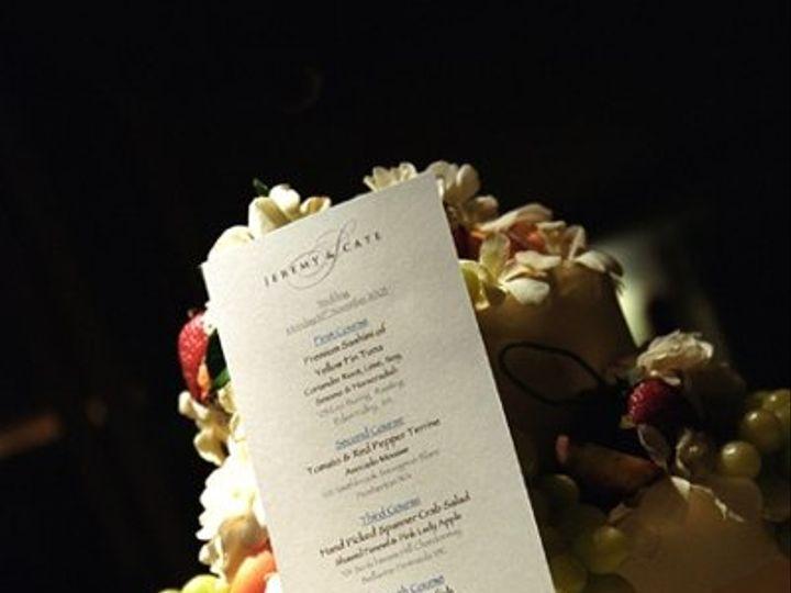 Tmx 1228163085008 Visual19 Menu Seattle wedding invitation