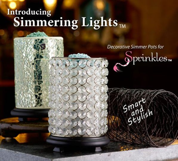 New simmering lights include a simmerling light base with interchangrable shades! You can add...