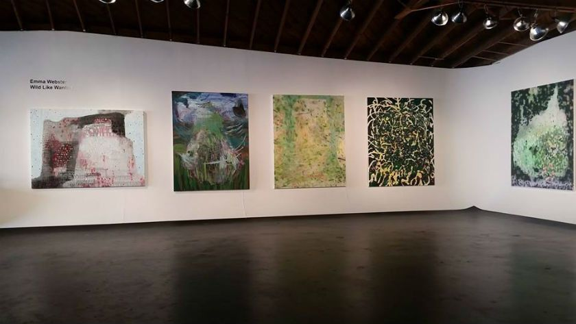 Paintings and event space