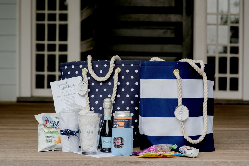 Nautical Welcome Gift Bags