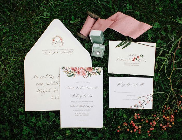 Orchard and farm wedding