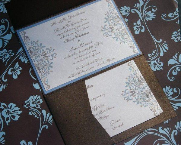 Tmx 1282710758689 Untitled Waterford wedding invitation