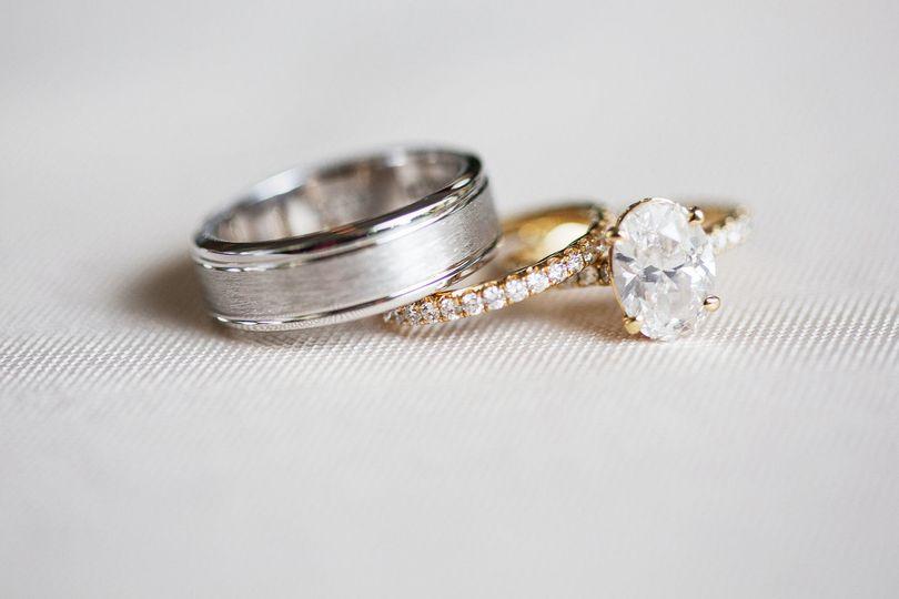 Wedding rings | Krista Lee Photography