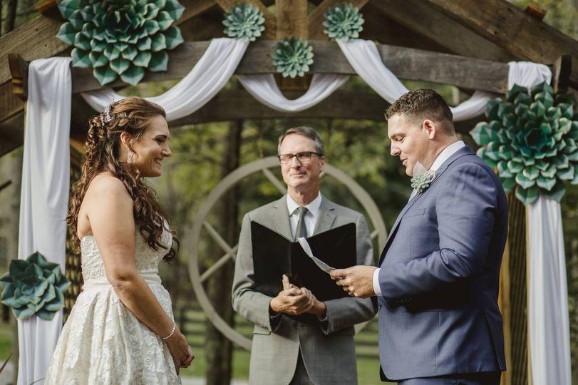 Wedding ceremony | Darcy Ferris Photography