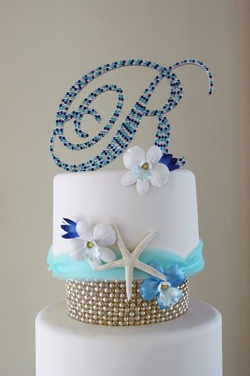 Sea themed cake