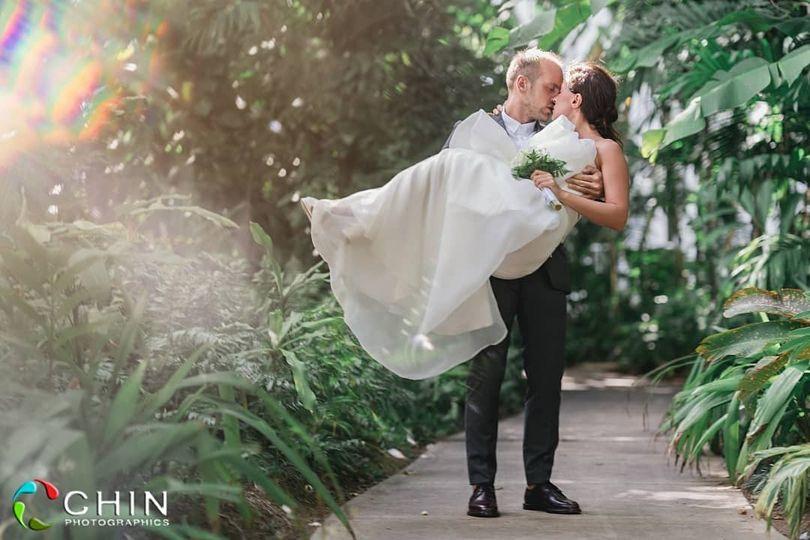 Jamaican element wedding