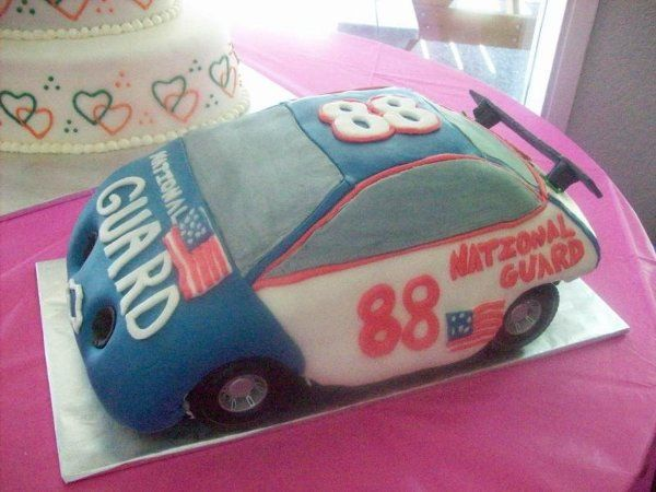 Tmx 1218132608243 DaleJrCar Montesano wedding cake