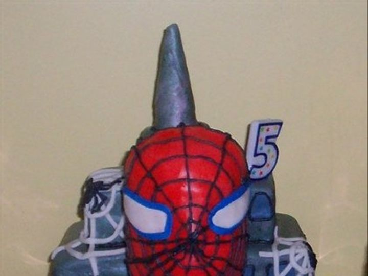 Tmx 1218132776165 Spiderman Montesano wedding cake