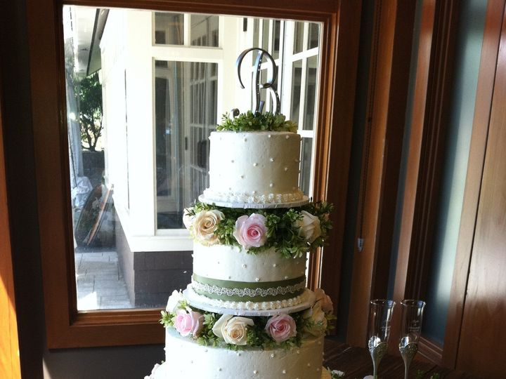 Tmx 1377579588163 Amandas Cake Montesano wedding cake
