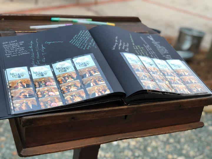 Premium Photostrip Guestbook
