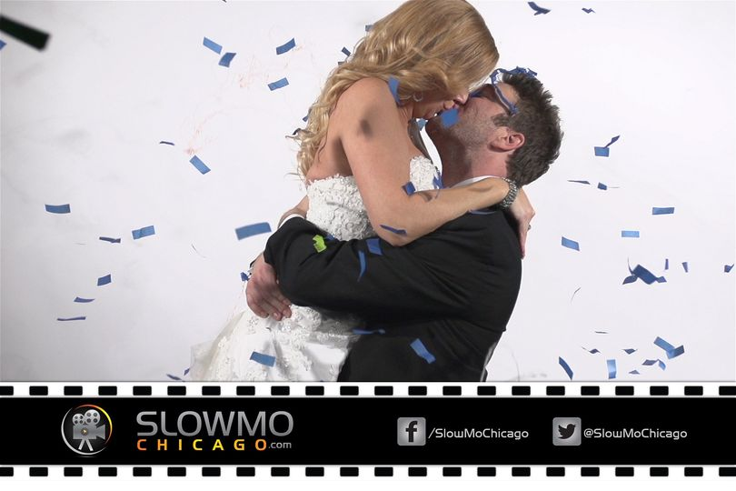 Slow motion video booth rental available in Chicago, NW Indiana, and Southern Wisconsin.