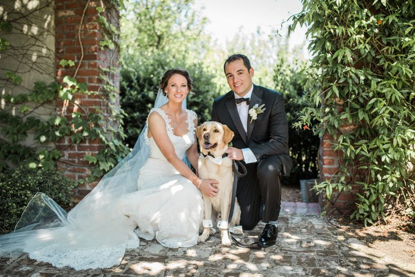 The couple with their dog