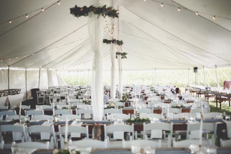 Farm tables white folding hair
