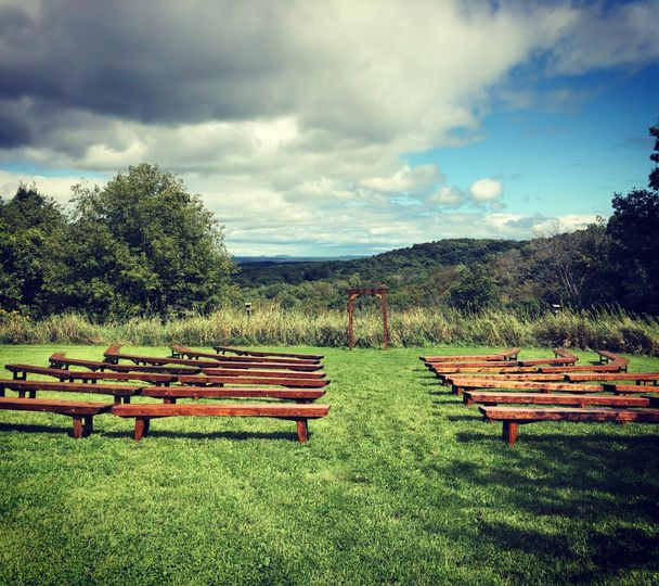 Farm bench ceremony