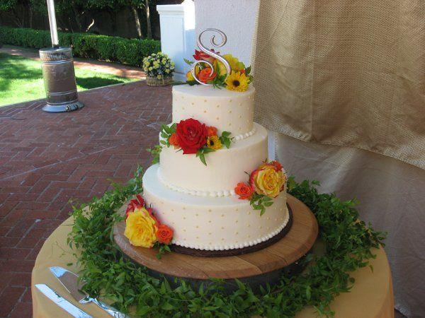 Citrus looking cake