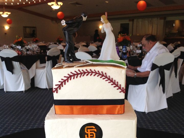 Tmx 1372914405454 Giants Wedding Cake Cotati, California wedding cake