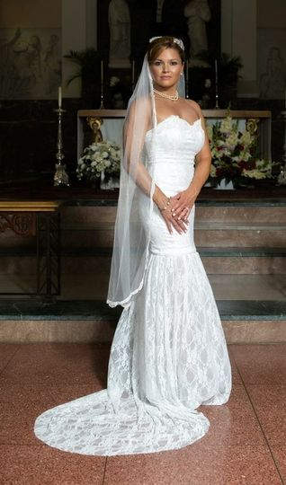 This beautiful classic gown is perfect for your wedding. Its sweetheart neckline is what you always...