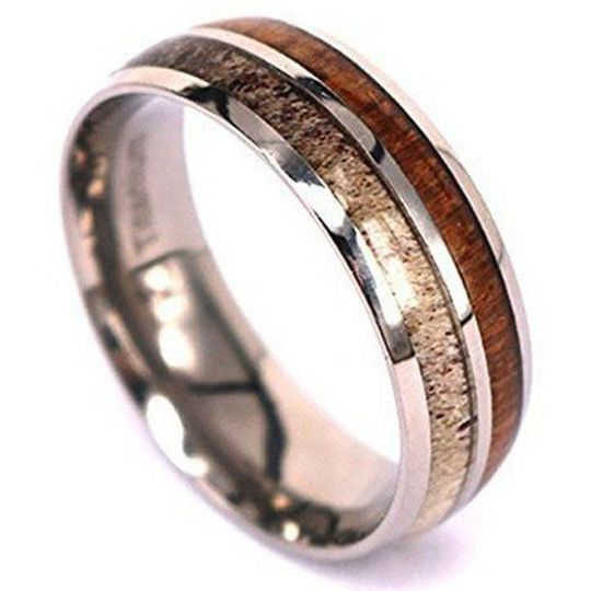 Wood like ring
