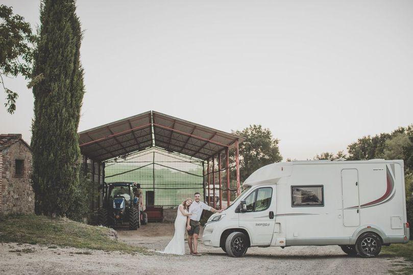 Wedding camper