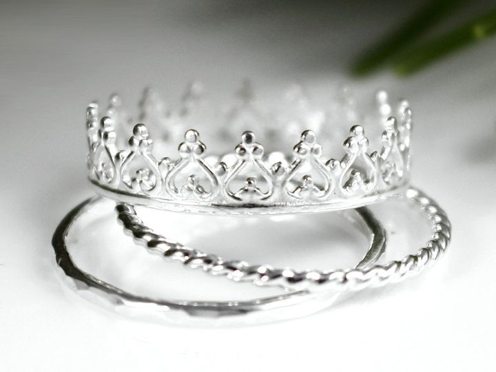 Tmx 1399210277843 Crownringl Mount Holly wedding jewelry