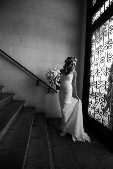 Bride's portriat