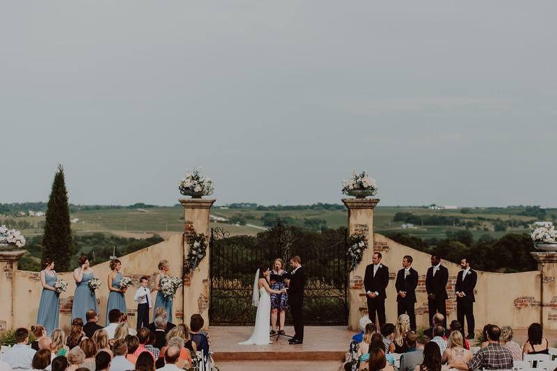 The ceremony site