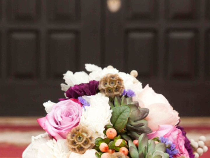 Tmx 1421857446594 Organic Purple Bouquet North Richland Hills wedding florist