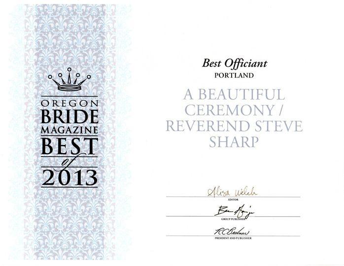 or bride best2013 awardweb