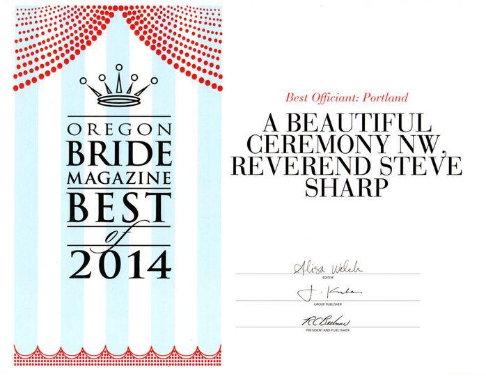 or bride best2014 awardweb